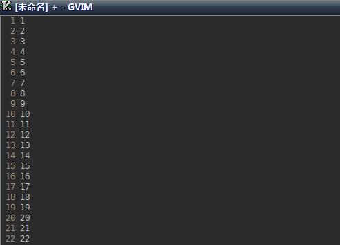生成连续数字,列模式+visincr插件